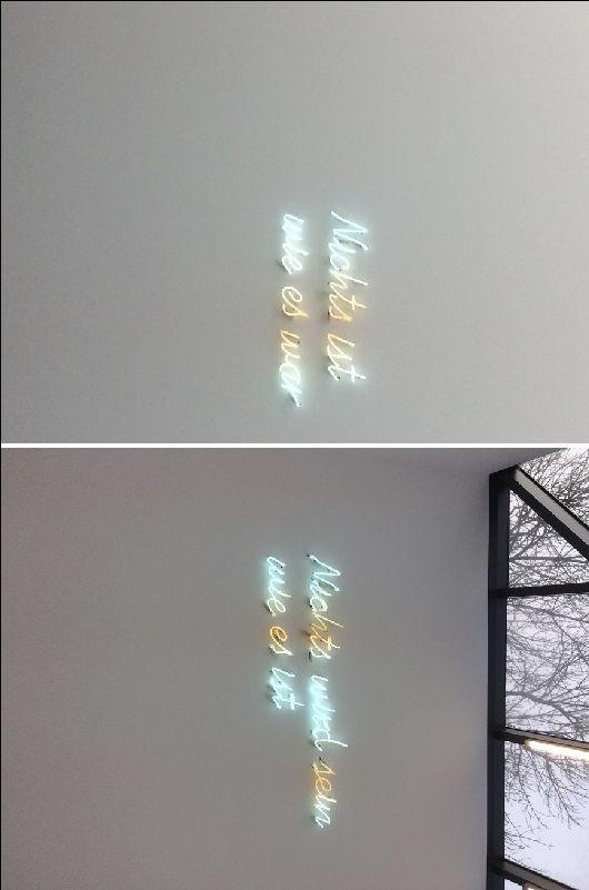 Neonteksten In Museum Unter Tage Bochum Foto S Miriam Windhausen Ogen Kijken