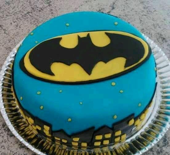 Bolo Do Batman Com Pasta Americana Bolosdecorados Festainfantil