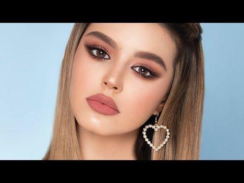 مكياج وردي ناعم Soft Pink Makeup ليان ناصر Youtube Lilac Eyeshadow Makeup Tutorial Eyeshadow Pink Makeup