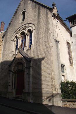 Vesoul Temple protestant luthérien