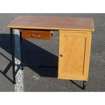 Petit bureau d 39 colier en bois classique bureau petit colier kid kids enfant bois - Bureau classique ...