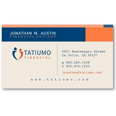 Financial planner business card financial planner professional financial planner business card financial planner professional business cards and planners reheart Choice Image