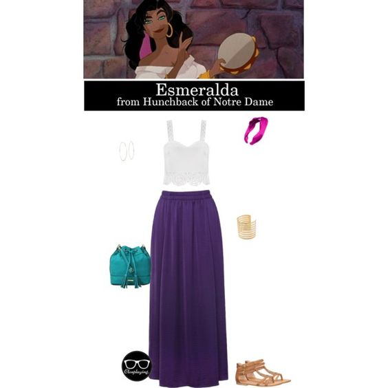 Esmeralda - the Hunchback of Notre Dame - Disney by closplaying on Polyvore