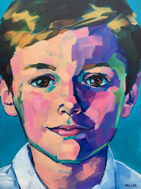 Jessica Miller Paintings Portrait Art Portraiture Painting Art Painting