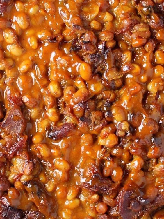 Bbq baked beans, Baked beans and Beans on Pinterest