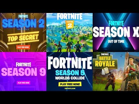 All Fortnite Cinematic Trailers From Season 1 To Season 12 Fortnite Chapter 2 Season 12 Youtube Cinematic Trailer Fortnite Season 12