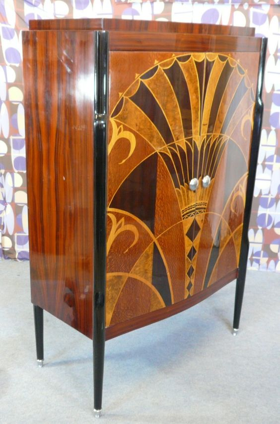 Interior design decoration furniture buffet style art for Meuble art deco