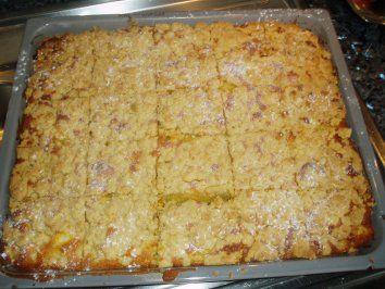 Rezept: Apfel-Kuchen mit Streusel