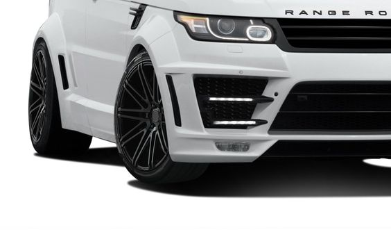 2014-2015 Land Rover Range Rover Sport AF-2 Wide Body LED Lights - 2 Piece