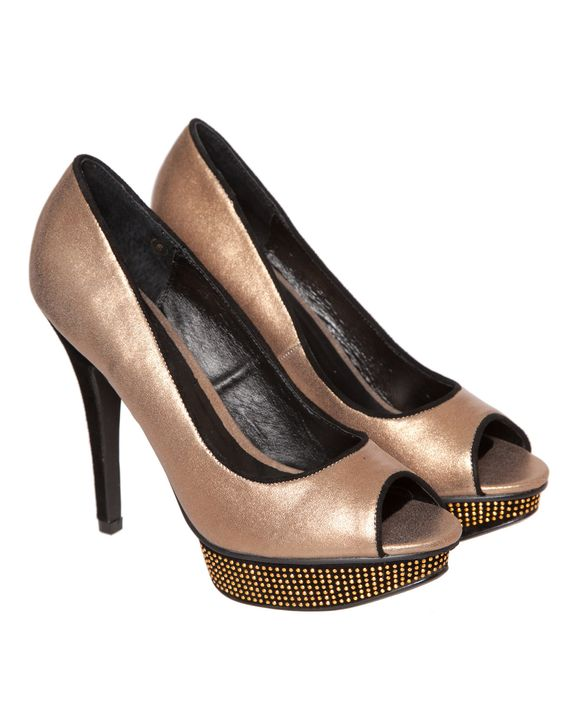 Ravel Diamante Court Shoes