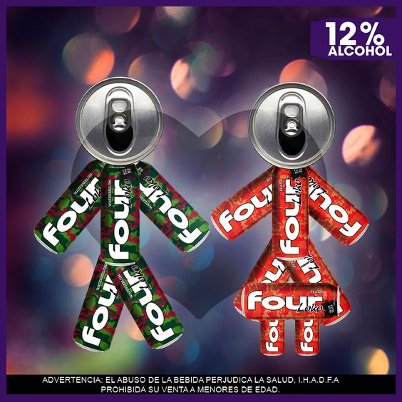 Four Loko On Behance In 2020 Four Loko Novelty Christmas Holiday Decor
