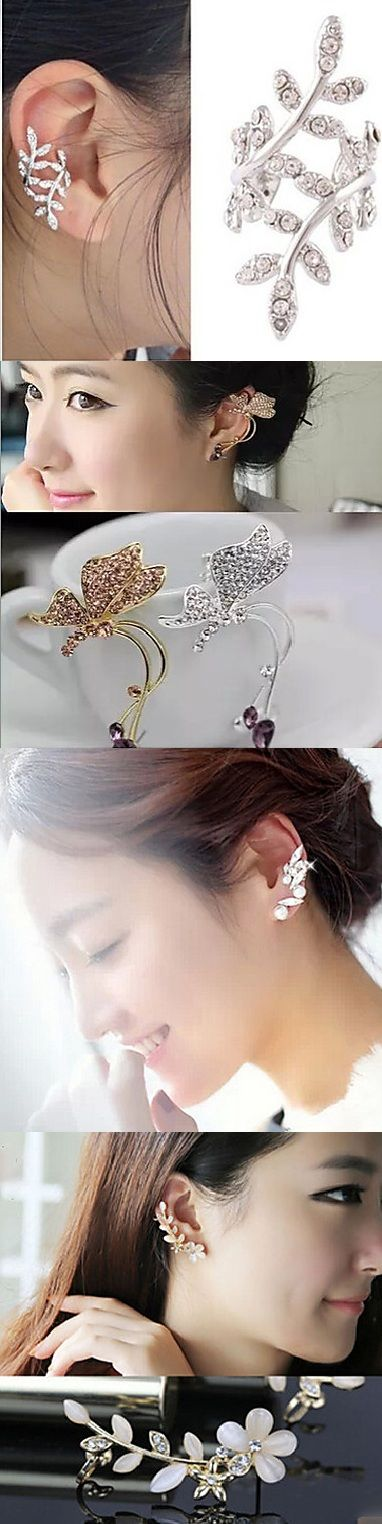 Cute and stylish earcuffs. No pierced ears needed! Click on the picture and check out all our collection!