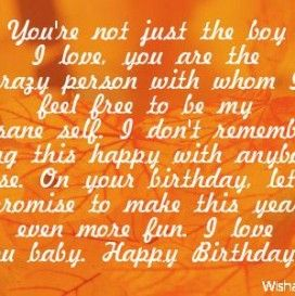 happy birthday quotes for boyfriend images 272x273