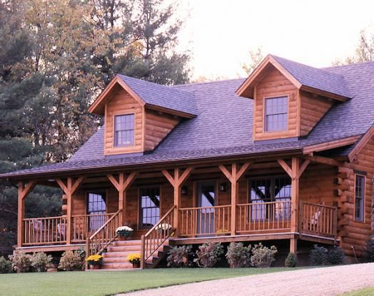 Exactly how i want my log home someday dream home for Log cabin roof design