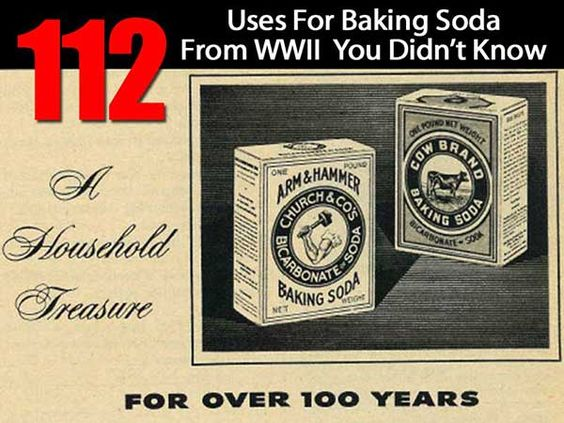 Shtf Emergency Preparedness: 112 Uses For Baking Soda From WWII You Didn't Know