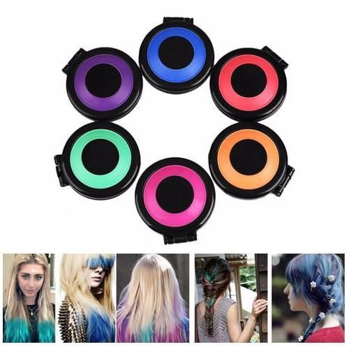 Temporary Hair Dye Chalk 2020 ヘアチョーク 黒髪 ヘアスタイル