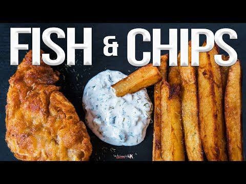 Homemade Fish And Chips Recipe Sam The Cooking Guy 4k Youtube Homemade Fish And Chips Fish And Chips Cooking