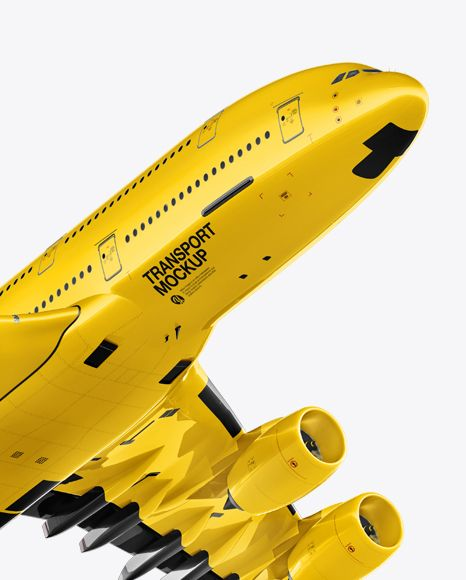 Aircraft Mockup Half Side View In Vehicle Mockups On Yellow Images Object Mockups Mockup Free Psd Mockup Free Download Mockup Downloads