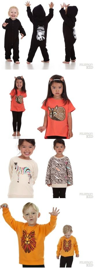 Filemonkid winter 2013 | new brand - at Just by Manon blog.