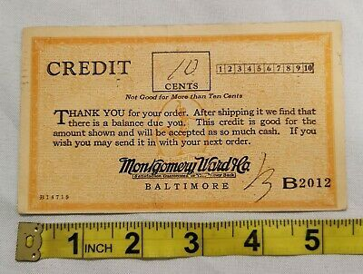 1928 Montgomery Ward 10 Cent Credit Postcard Coupon Baltimore Maryland Ebay Postcard Baltimore Maryland Montgomery Ward