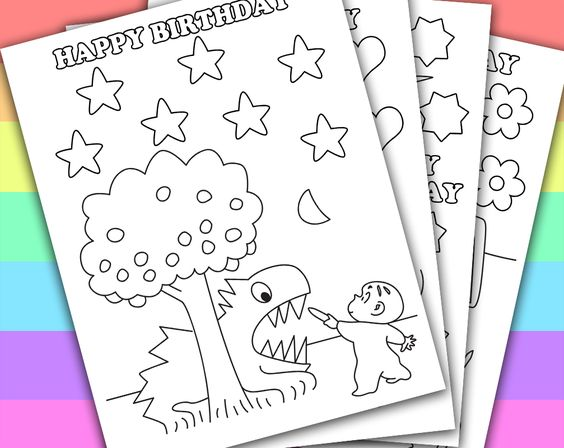 DIGITAL - INSTANT DOWNLOAD PRINTABLE COLORING PAGE This listing give ...
