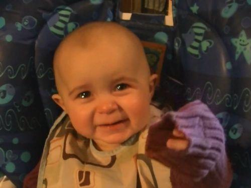 ■感動的なリアクション…お母さんの歌声に赤ちゃんの涙腺が崩壊してしまう(動画)  何度見てもかわいすぎるー