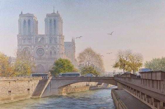 Thierry Duval Notre Dame de Paris (700x464, 342Kb)