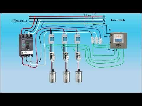 Power Factor Capacitor Bank Connection Earth Bondhon Capacitor Power Bank