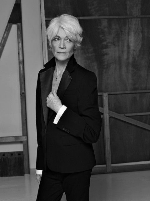 Eternally stylish: Françoise Hardy.