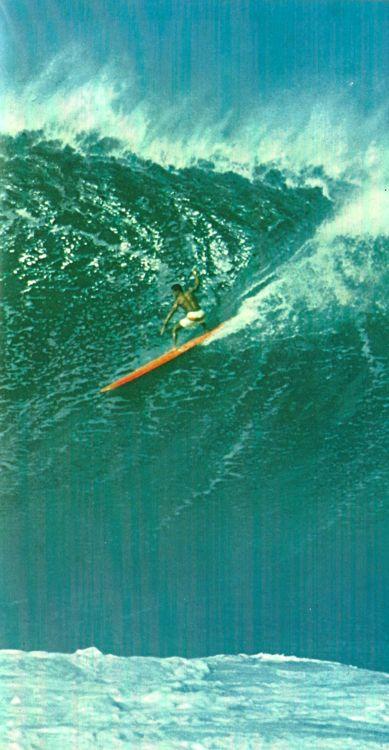 oldhawaii:    Waimea Surf, 1960s.