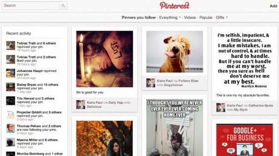 Pinterest Browser-Add-ons