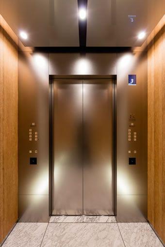 エレベーターかご内 エレベーター エレベーターホール 住宅