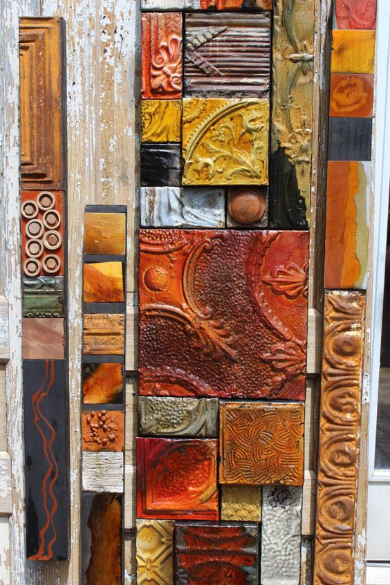 Hand Made Lori Daniels Designed Mixed Media by TinExpressions