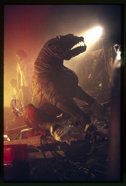 Behind the scenes of Ghostbusters