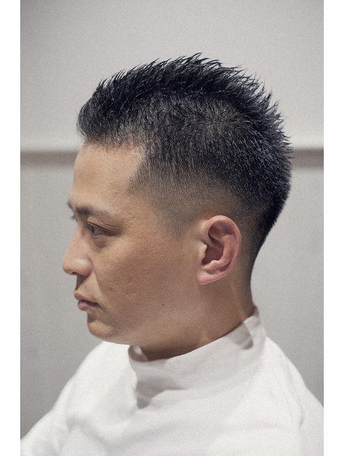 フェードソフトモヒカン L048070892 ジェントル Gentle のヘア