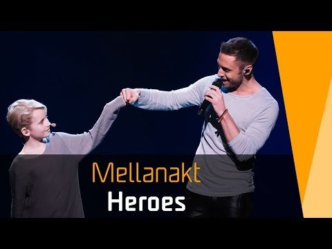 Måns Zelmerlöw - Heroes (Sweden) - LIVE at Eurovision 2015 Grand Final - YouTube