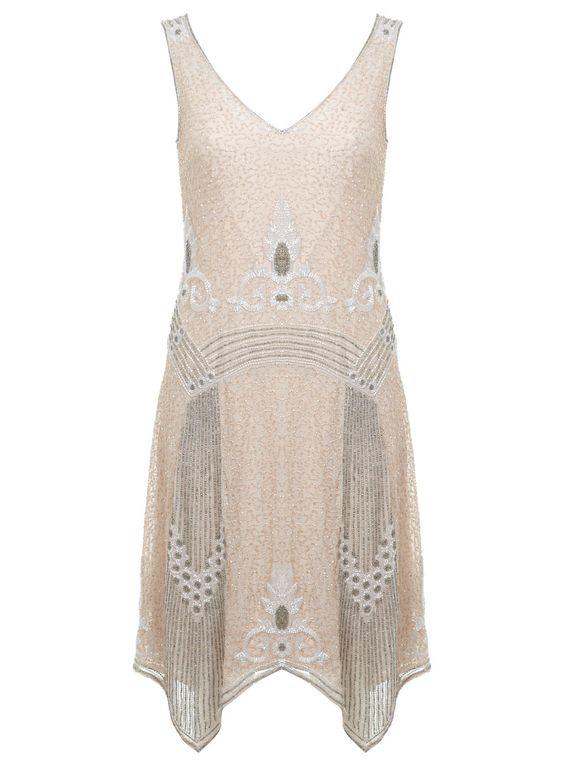Fleur Flapper Dress