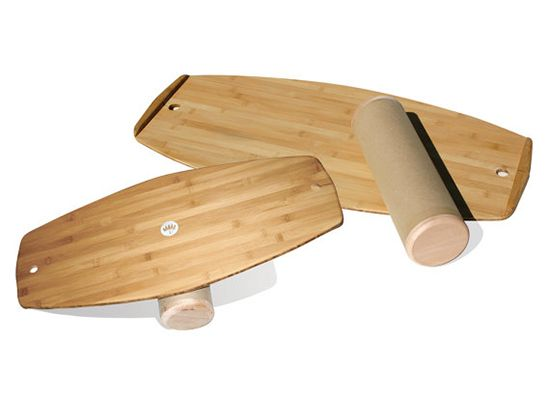 LotusBalance Boards - eco-friendly bamboo balancing toy for kids and adults