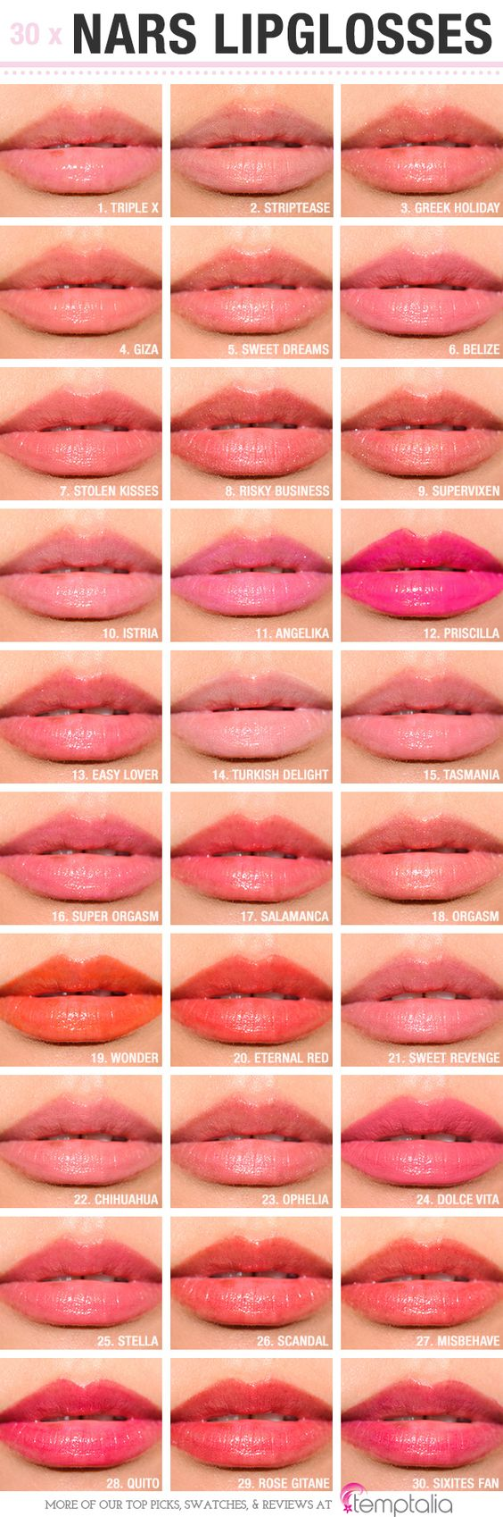 Sneak Peek: NARS Lipglosses Photos & Swatches | Swatch ...