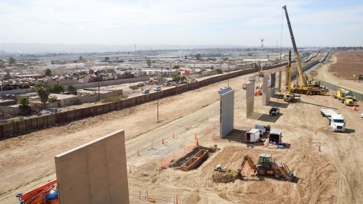 The U S Supreme Court On Monday Said It Would Not Hear A Challenge To The Trump Administration S Propos Environmental Law Us Mexico Border Wall Aerial Footage