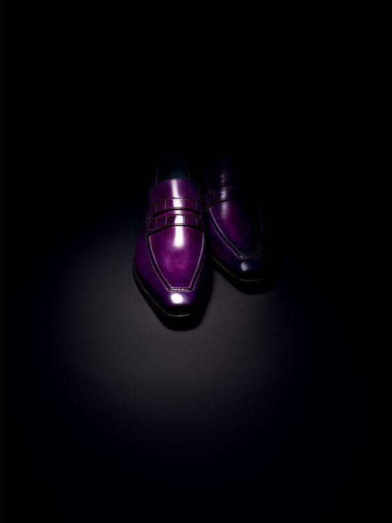 Berluti loafer.