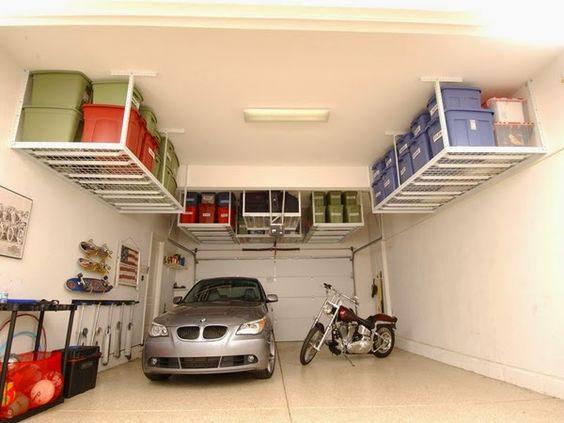 conseils déco et relooking: Stockage de garage - des idées verticales pour vot...
