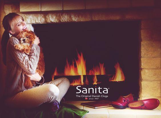 Cozy, comfortable, and Sanita.  #mysanita #sanitacomfort  www.sanita.com