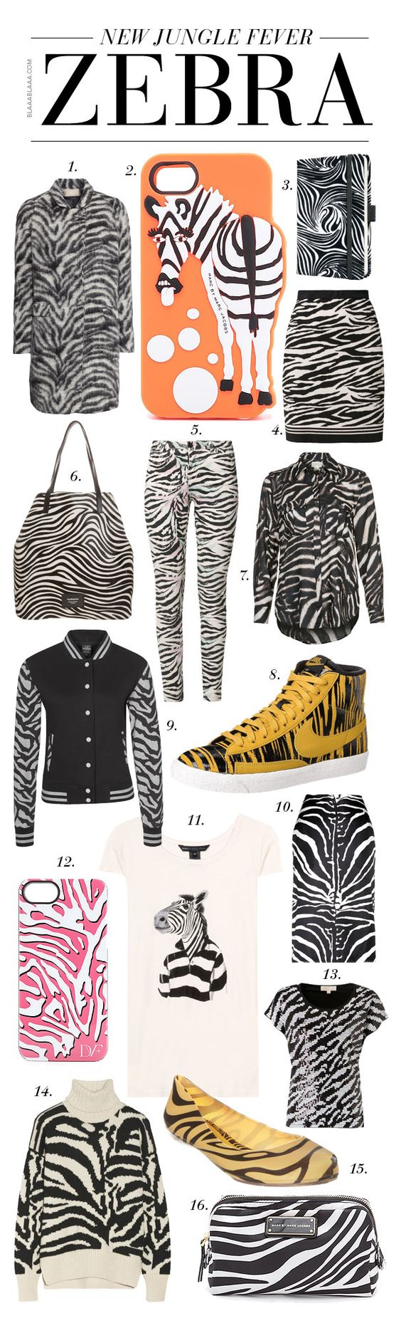 Trendalarm: Zebra – The New Jungle Fever!