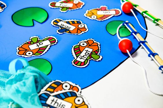 fishing for sight word game - fabulous and easy to prep game for sight word practice