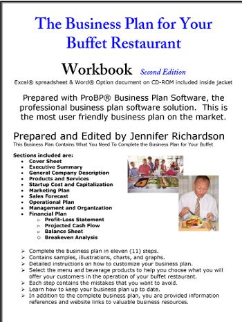 Business plan in restaurant