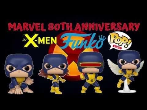 Marvel 80th Anniversary X Men Funko Pops Funko News Xmen Cosplay Xmen Apocalypse Xmen Comics