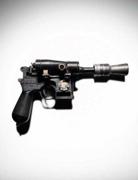 greedo's blaster. too bad it didn't save him...