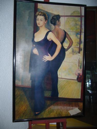 Silvia pinal por diego rivera huguifero diego rivera for El mural de siqueiros pelicula