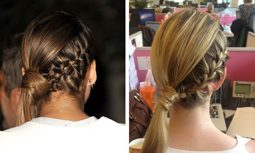5 Steps to Jessica Alba's Braided Side Ponytail | Birchbox
